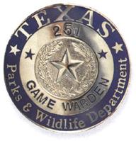 Texas Game Warden badge