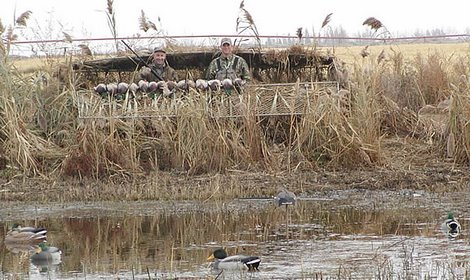 Season dates for Texas Waterfowl Hunting are here