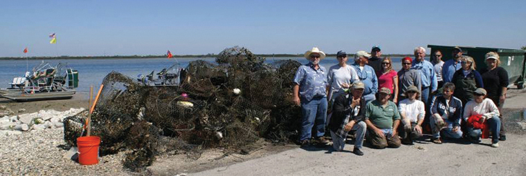 Texas Crab Trap Cleanup Continues