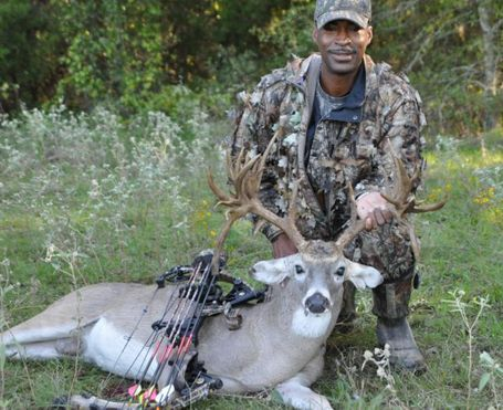 Big whitetail harvested in Kaufman County