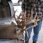 Hunter Tags Big Nebraska Whitetail