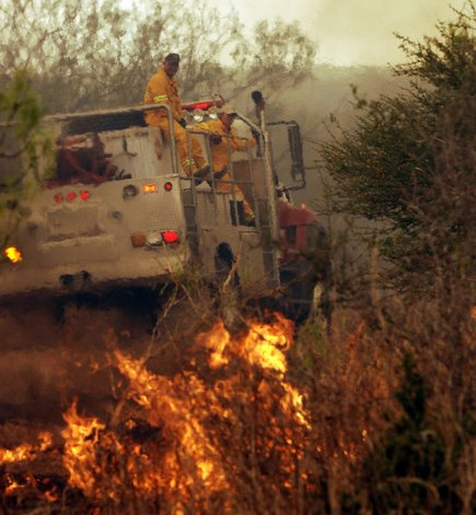 Wildfire Burns Chaparral Wma Wildlife Pro